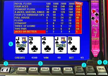 Jogo video poker 48711