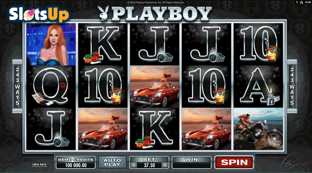 Slots machines playboy caça 20091