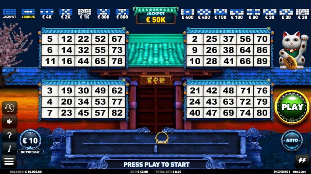 Lucky nugget video bingo 28249