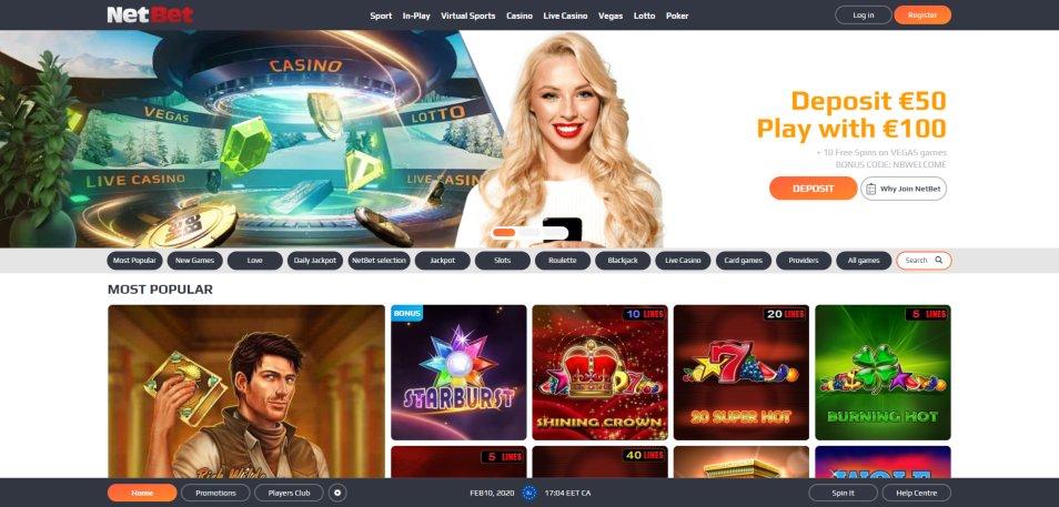 Netbet casino 27779