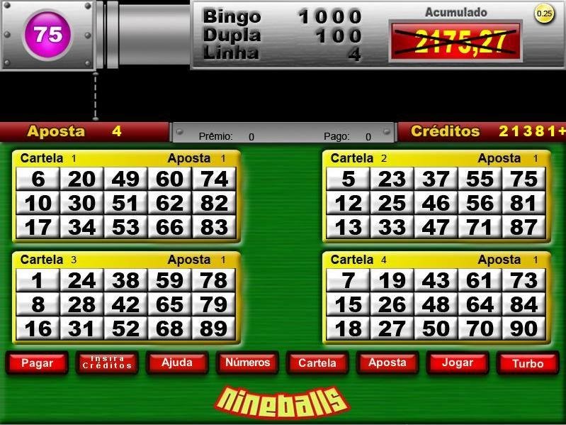 Jogos jackpot bingo eletronico 19369