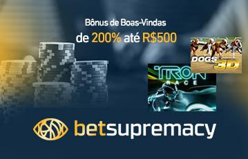 Betsupremacy bônus poker 30580