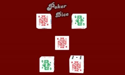 Poker dice 55941