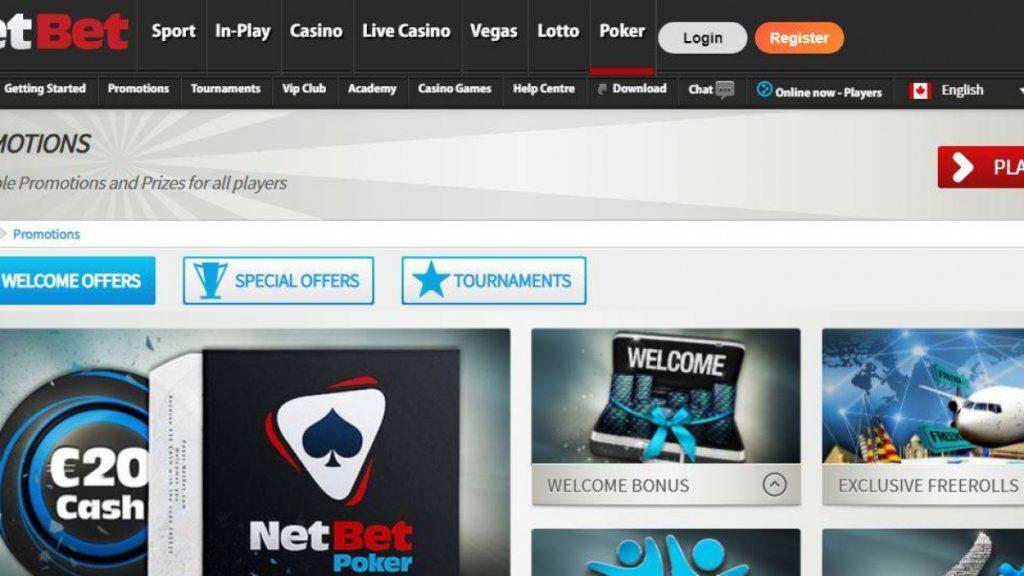 Bonus casino netbet Vera&John 40154