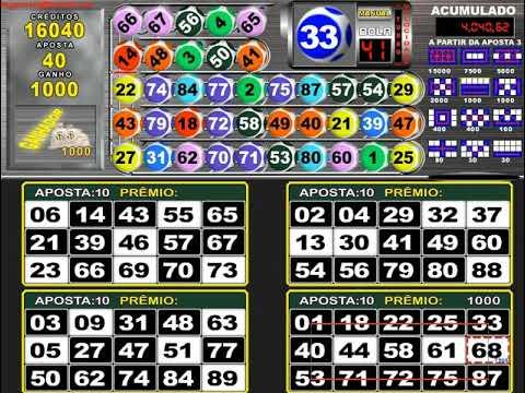 Como jogar bingo flame 14141