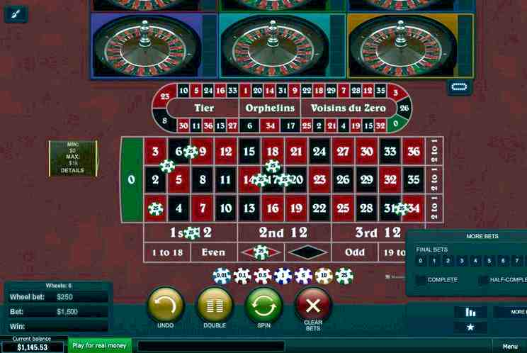 Multiwheel roulette free spins 15212