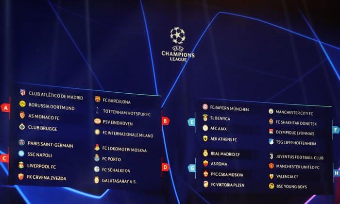 Champions league sorteio 29834