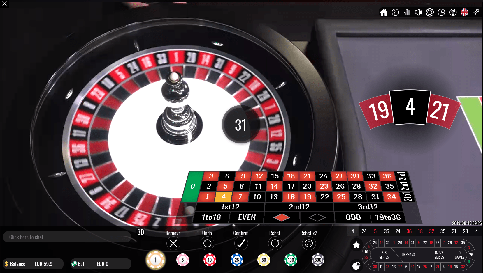 Vivo gaming cluedo casino 66036