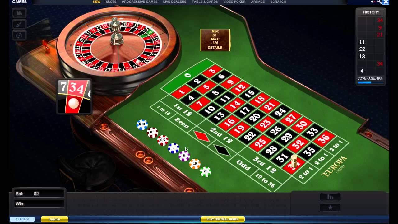 Roleta pro casinos rival 15097