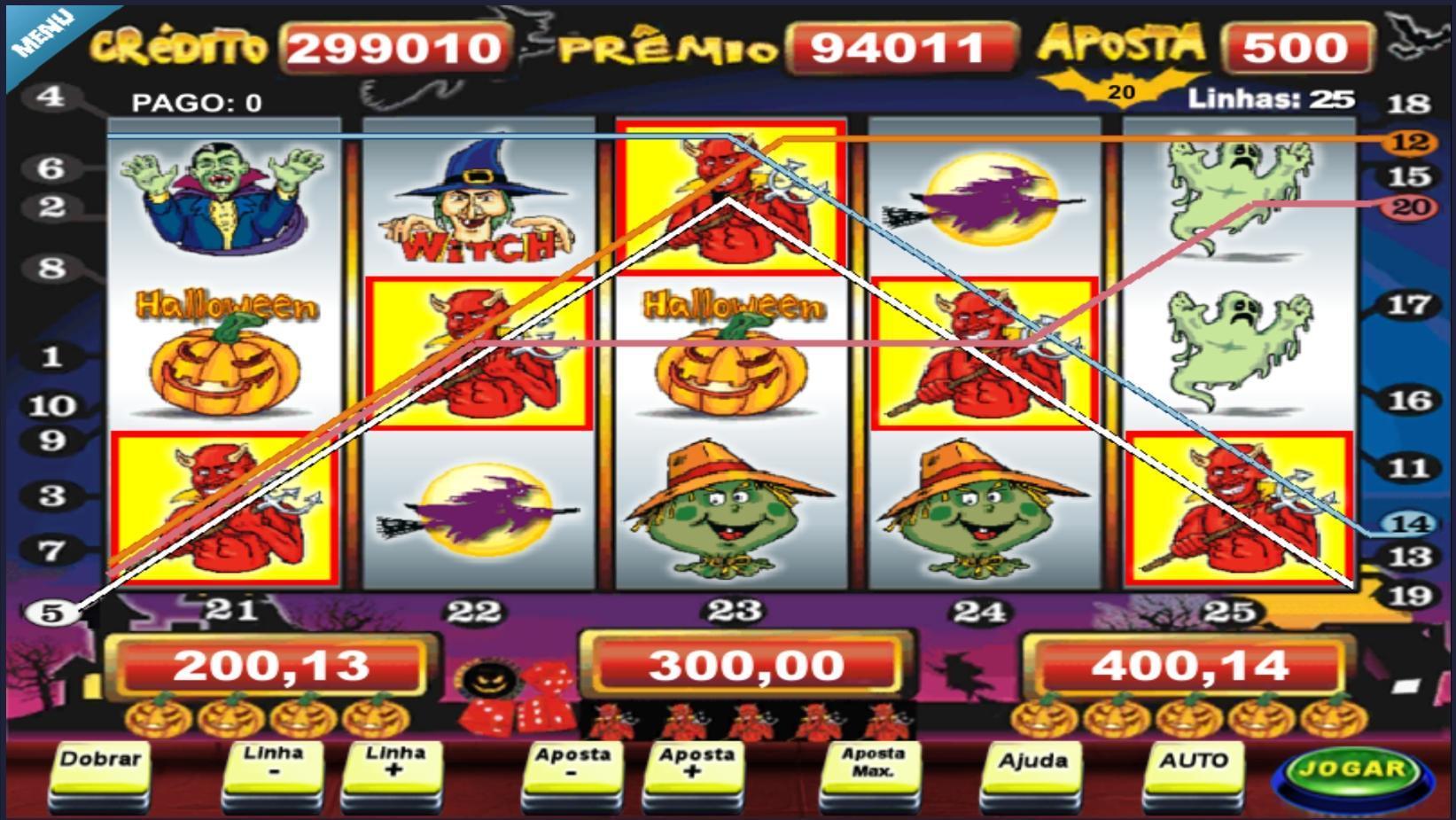 Melhores slots 45865