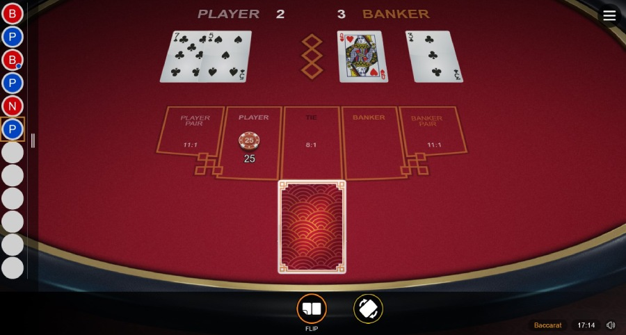 Baccarat gold red 37131