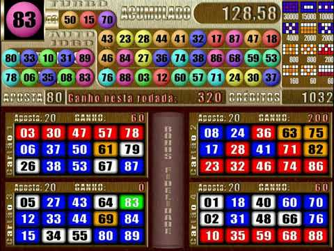 Vídeo bingo tutti caça 15980