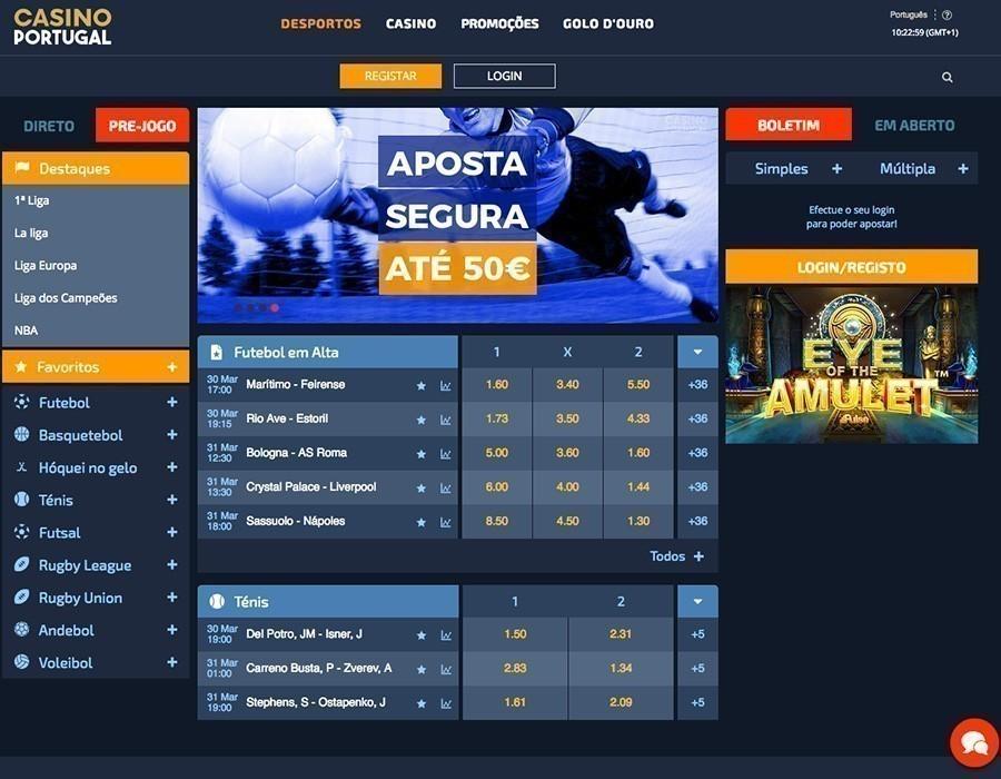 Casino em Portugal apostas 37459