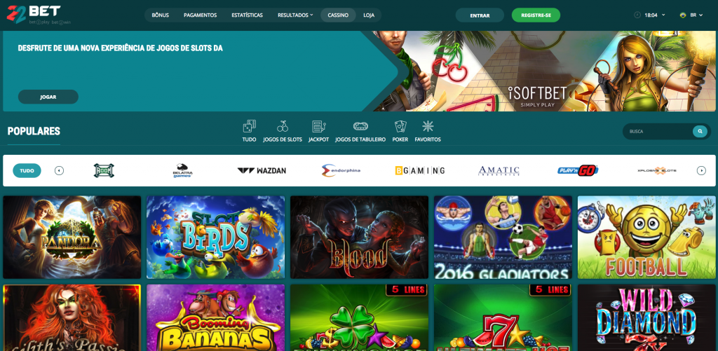 Casino jogos 22bet 64294