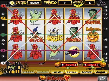 Halloween caça níquel 21657