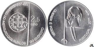 Portugal moedas euro pagar 36804