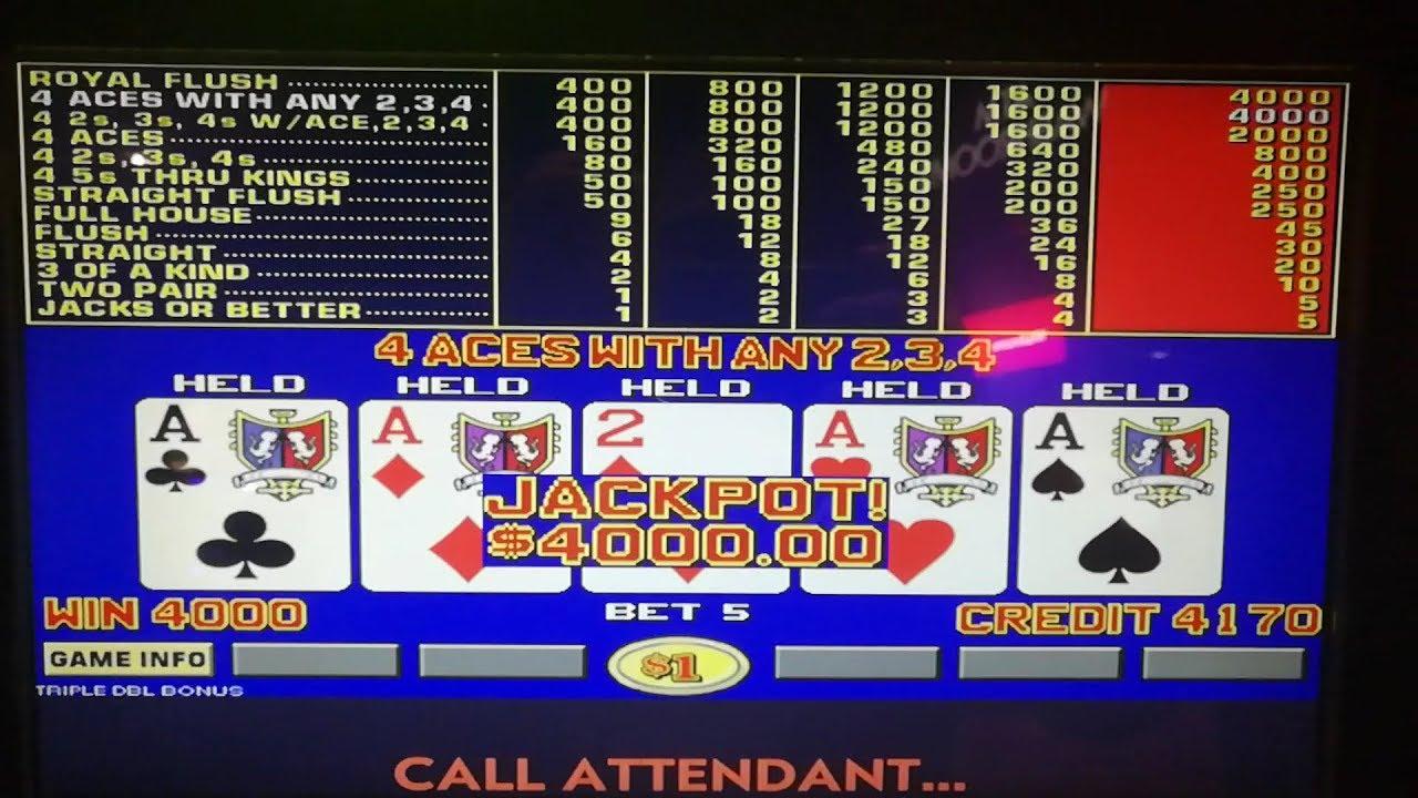 Video de poker bônus 22700